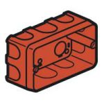 Boîte multiposte maçonnerie 3 mod. prof.40mm
