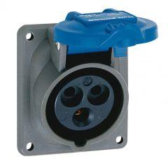 Socle tableau Hypra - IP44 - 16 A - 200/250 V~ - 2P+T - plast