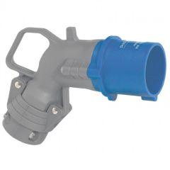 Fiche coudée Hypra - IP44 - 16 A - 200/250 V~ - 2P+T - plast
