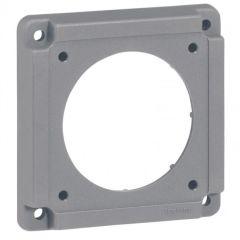 Plaque adaptation Hypra - pour socle brochage domestique/coffret de prises