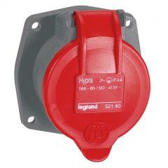 Socle tableau Hypra -IP44- 16 A - 380/415 V~ - 3P+T - plast - rempl M-L 10 A