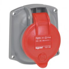 Socle tableau Hypra -IP44- 16 A - 380/415 V~ - 3P+T - plast - rempl M-L 16 A