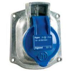Socle tableau Hypra -IP44- 16 A - 200/250 V~ - 2P+T - métal - rempl M-L 16 A