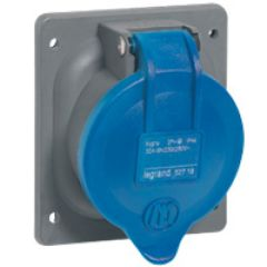 Socle tableau plastique Hypra - IP44 - 32 A - 200/250 V~ - 2P+T