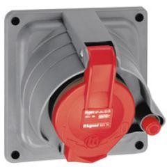 Socle tableau Prisinter Hypra - IP44/55 - 32 A - 380/415 V~ - 3P+N+T - plast