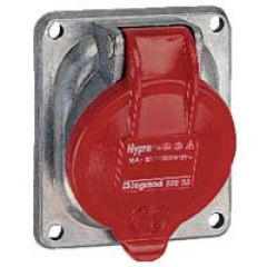 Socle tableau Hypra - IP44 - 32 A - 380/415 V~ - 3P+T - métal