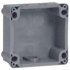 Boîtier réversible Hypra - IP44/55 - 32 A -pour socle 2P+T/3P+T/3P+N+T - plast