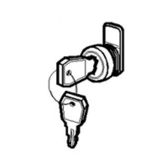 Serrure à clé n° 850 - pour coffrets modulaires encastrés