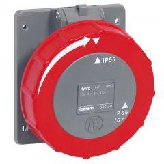 Socle tableau entraxe unifié Hypra -IP66/67-55- 32 A - 380/415 V~ - 3P+T - plast