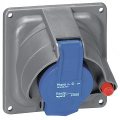 Socle tableau Prisinter Hypra IP44/55 - 63 A - 200/250 V~ - 2P+T - plast