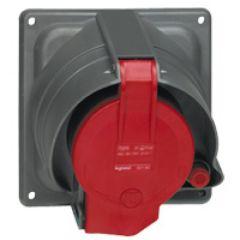 Socle tableau Prisinter Hypra IP44/55 - 63 A - 380/415 V~ - 3P+T - plast