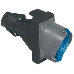 Prisinter mobile Hypra - IP44/55 - 63 A - 200/250 V~ - 2P+T - caoutchouc