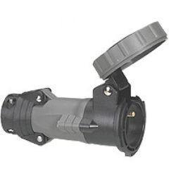 Prise mobile Hypra - IP66/67-55 - 16 A - 250 V~ - 2P+T - brochage dom - plast