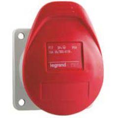 Socle de tableau encombr réduit P17 - IP44 - 16 A - 380/415 V~ - 3P+N+T - plast