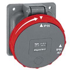 Socle de tableau Hypra -IP66/67-55 - 63A - 380/415 V~ - 3P+N+T