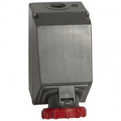 Socle prise saillie simple Hypra -IP66/67-55 - 125A - 380/415 V~ - 3P+T
