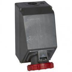 Socle prise saillie simple Hypra -IP66/67-55 - 125A - 380/415 V~ - 3P+N+T