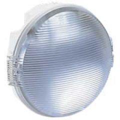 Hublot Koro étanche -IP54/IK08- rond - lampe fluocomp 2x9W culot G23