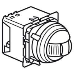 Détecteur IR orientable Céliane MyHOME BUS pour alarme intrusion - portée 3-9 m