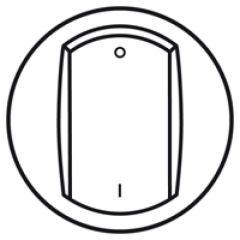 Enjoliveur Céliane - inter bipolaire - doigt large blanc