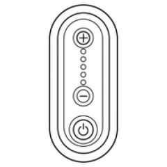 Enjoliveur Céliane - variateur 1000 W - titane