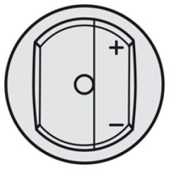 Enjoliveur Céliane - commande pour télévariateur - titane
