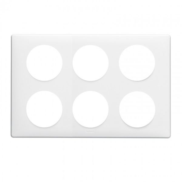 plaque c liane memories 2 x 3 postes yesterday achat vente legrand 068609. Black Bedroom Furniture Sets. Home Design Ideas