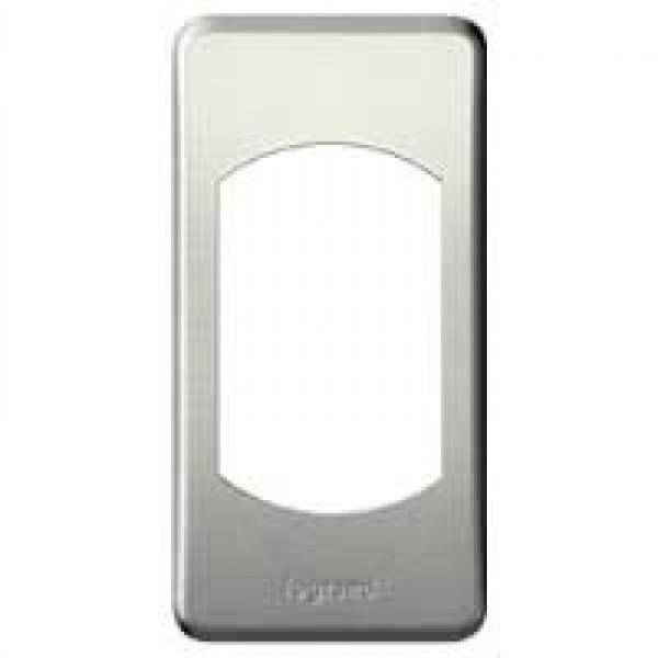 Plaque c liane m tal 1 module titane achat vente legrand 068900 - Plaque metal decorative pas cher ...