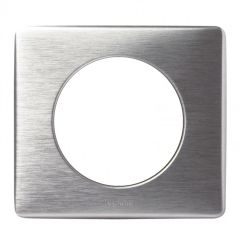Plaque Céliane - Métal - 1 poste - Aluminium