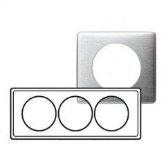 Plaque Céliane - Métal - 3 postes pour rénovation - Aluminium