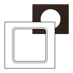 Plaque Céliane - Matières - grand format - Teinté Wengué