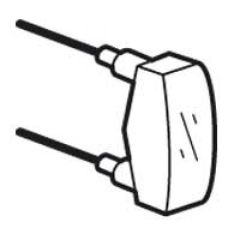 Lampe de rechange Prog Plexo - 230 V - 0,5 mA verte