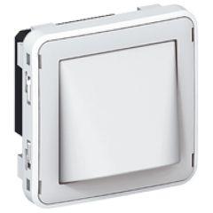 Détecteur de gaz Prog Plexo composable gris/blanc