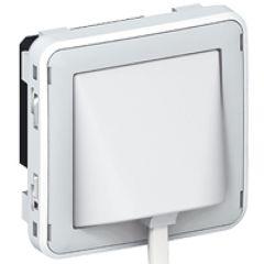 Détecteur d'élévation de température Prog Plexo composable gris/blanc