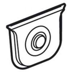 Embout à membrane Plexo - blanc - 1 sortie - Ø jusqu'à 25 mm