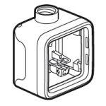 Boîtier presse-étoupe Prog Plexo composable gris - 1 poste - PG 16