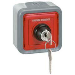 Coffret de commande de relayage - IP 55 - IK 07 - ''arrêt pompier''