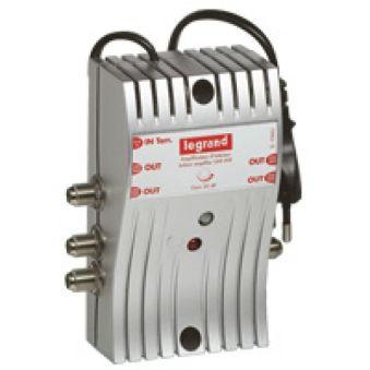 Amplificateur TV - UHF + VHF - 862 MHz - 1 entrée - 4 sorties