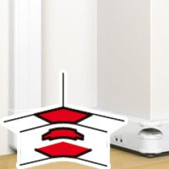 Angle intérieur 80 à 100° - pour goulotte à clippage direct Prog Mosaic 50x145