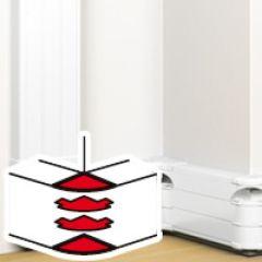 Angle extérieur 85 à 120° - pour goulotte à clippage direct Prog Mosaic 50x180