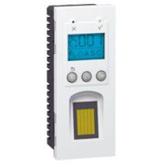 Lecteur biométrique d'empreinte digitale Prog Mosaic - 5 mod vertical - blanc