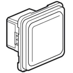 Signalétique lumineuse Prog Soliroc - 230 V~ - IK 10 - IP 55 - LEDs blanches
