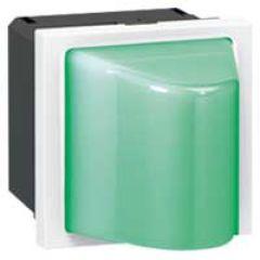 Hublot vert Prog Mosaic - 230 V~ - 2 mod