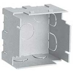 Boîtier d'isolation pour paroi mince 2 mod. pour réf. 802 91/95