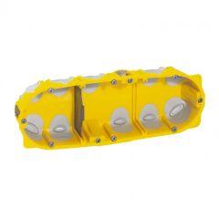 Boîte multipostes Prog. Ecobatibox - 3 postes - 6/8 modules - prof. 40 mm