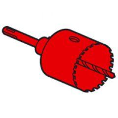 Scie multimatériaux à concrétion carbure de Tungstène Batibox - Ø67 mm