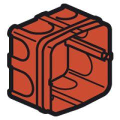 Boîte Batibox - maçonnerie - pour prise 20 et 32 A - 1 poste - prof. 40