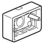 Cadre Prog Mosaic - pour support réf. 802 59 - prof 40 mm - 3 mod
