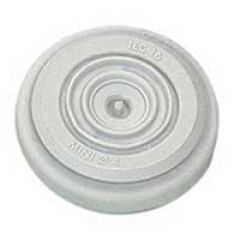 Embout de rechange Plexo gris - jusqu'à Ø20 - gris RAL 7035