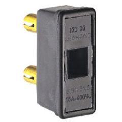 Porte-fusible à broches - Ø8,8 mm - pour cartouches 10 x 38